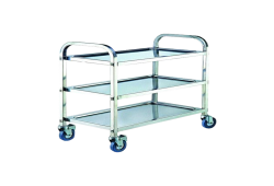 stainless stell dressing trolley